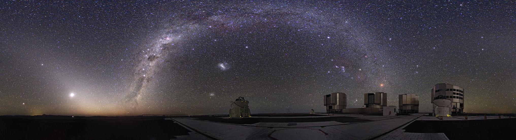 Paranal Observatory частью которой является телескоп VISTA